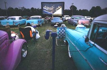 Drive in theater, realclear