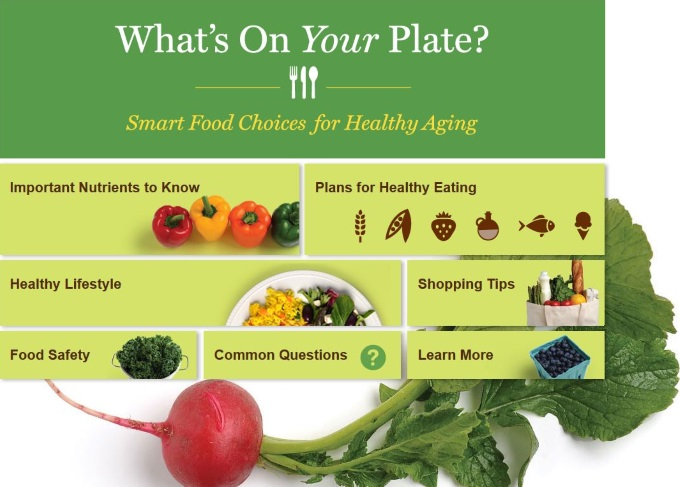 NIH healthy eating old age