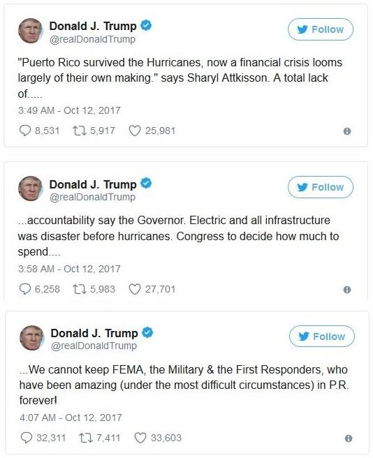 TrumpTweetPuertoRico