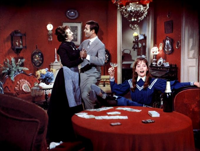 Leslie Caron etc.