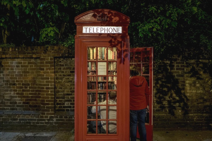 Communitylibraryphonebooth