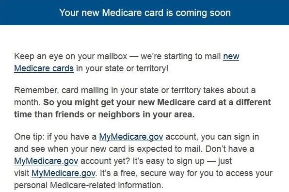 MedicareCardEmail