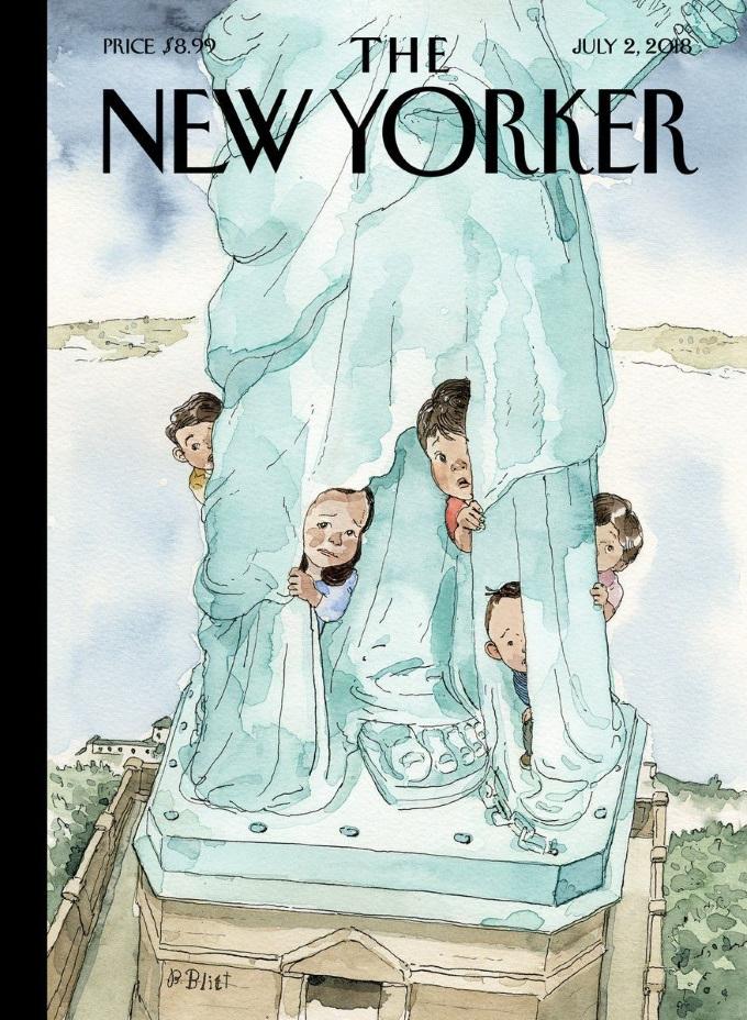 NewYorkerCoverRefugees