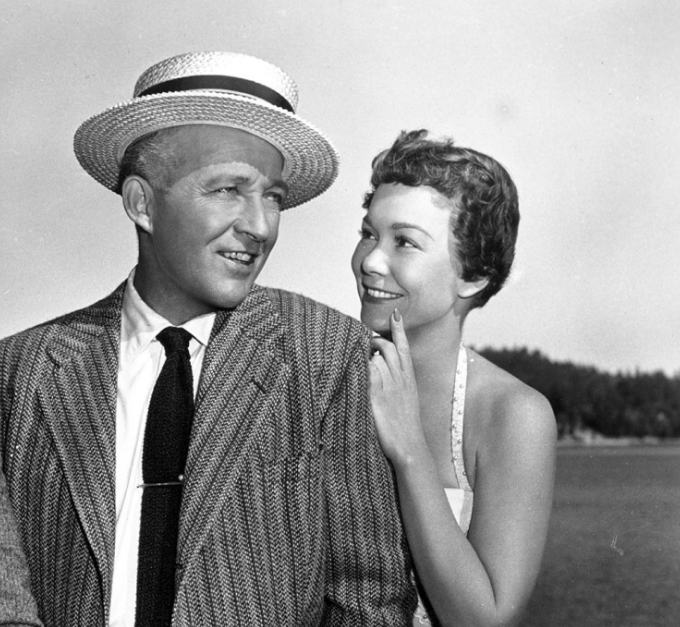 Bing Crosby & Jane Wyman
