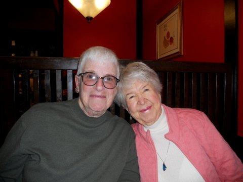 Jan Adams and Darlene Costner